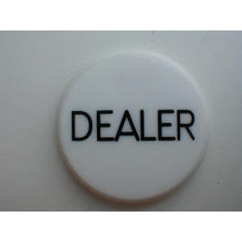 dealer button for poker games (дилера по игре в покер)