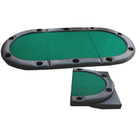 3-fold poker table top