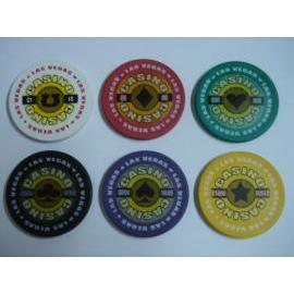 Casino - Las Vegas style chip (Казино - Лас-Вегас стиль чипа)