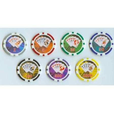 Poker Girl poker chip (Девочка покер покер чипа)