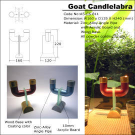 Goat Candlelabra (Коза Candlelabra)