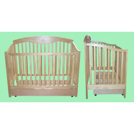 4 In 1 Wood Crib