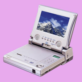 PORTABLE DVD PLAYER W/7`` TFT SCREEN