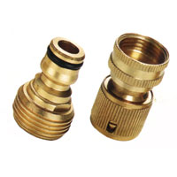Striped Pattern Brass Nozzle