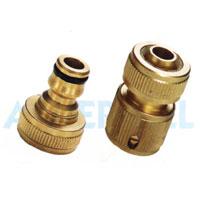Striped Pattern Brass Nozzle