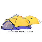 U5 5-Person expedition tents