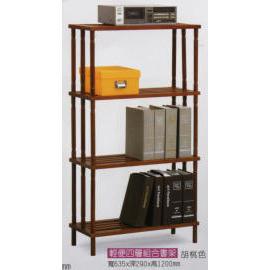 Wooden Bookshelf (Деревянный Книжная полка)