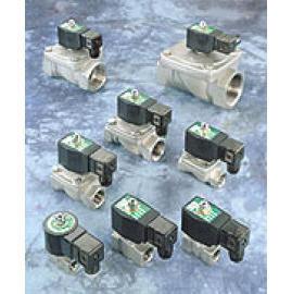 2/2-way solenoid valves
