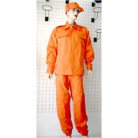 Fire-Retardant Overall Clothing