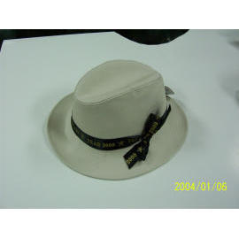 man`s hat - canvas