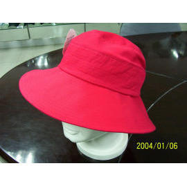 LADIES HAT cotton twill