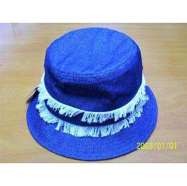 Ladies hat - denim