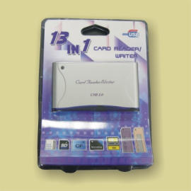 USB 2.0 20-in-1Card Reader