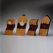 WC-01W Wood Table Clock (Tower Shape) (WC-01W дерево Настольные часы (Tower Shape))