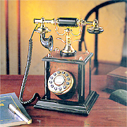 Regal Wooden Telephone