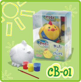 Lil` Flabs Coin Bank - Didi d` Chick