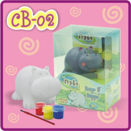 Lil` Flabs Coin Bank - Ringo d` Hippo