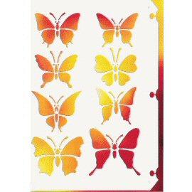 DIY Multi-Function Paper Stencil Plate (DIY Многофункциональный бумаги трафарет Plate)