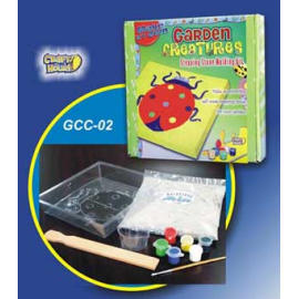 Garden Creature Stepping Stone Kit - Bug