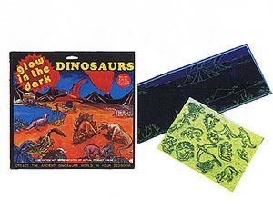 Glow Dinosaurs Sticker