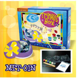 Mold & Paint Trinkit Box with Plaster