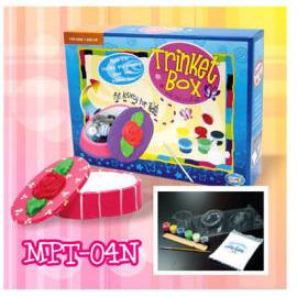 Mold & Paint Trinkit Box with Plaster (Mold & Paint Trinkit Box с гипсом)