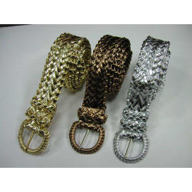 webbing fashion belts