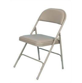 Folding Chair, Vinyl Chair, Furniture
