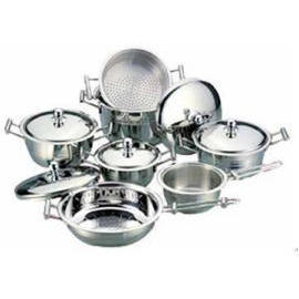 S/S 18/10 12PCS COOKWARE SET (S / S 18/10 12PCS посуда SET)
