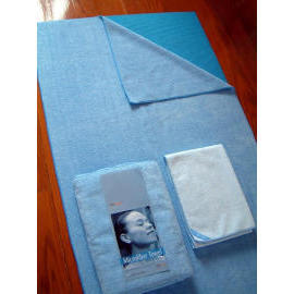 Pro Microfiber Yoga Towel &Mat