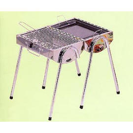 Twin Barrel BBQ, BBQ Set, BBQ Grill (Twin ствола барбекю, гриль-Set, гриль барбекю)