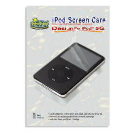 iPod screen care