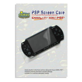 PSP screen care (PSP Bildschirm Pflege)