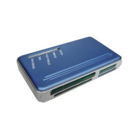 Aluminum USB 2.0 12 in 1 Card Reader