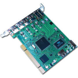 USB 2.0 / 1394 Combo PCI Card