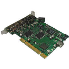 USB 2.0 / 1394 / SATA Triple PCI Card