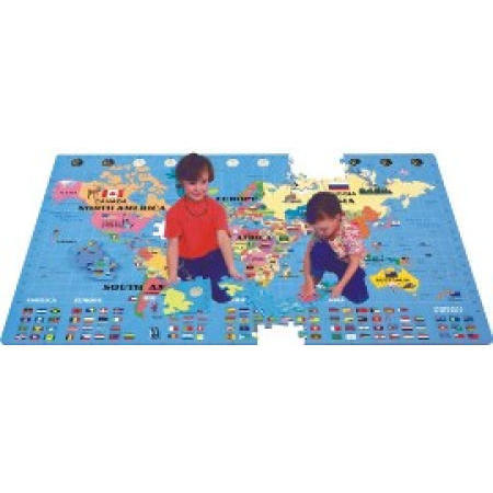 World Map Puzzle (World Map Puzzle)