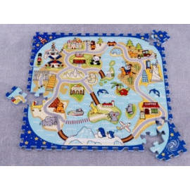 Little World Puzzle (EVA foam puzzle) (Little World Puzzle (Puzzle en mousse EVA))