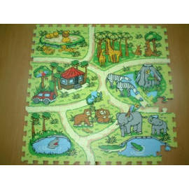 The Zoo Puzzle (EVA foam puzzle) (Зоопарк Puzzle (EVA Foam головоломка))