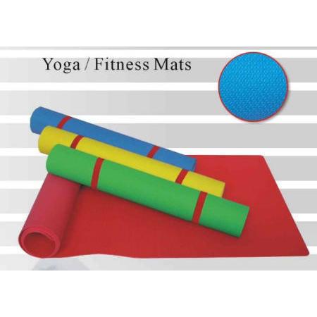 yoga mat fitness mat exercise mat (un tapis de yoga fitness tapis d`entra�nement mat)