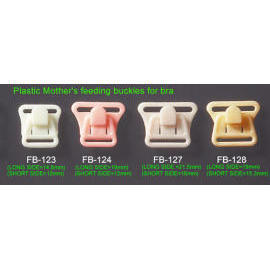 Mother`s Feeding Buckles-Plastic front Fasteners for Brassiere-2