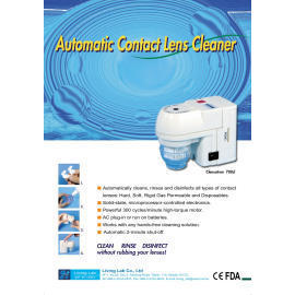 Automatic Contact Lens Cleaner (Automatique Contact Lens Cleaner)