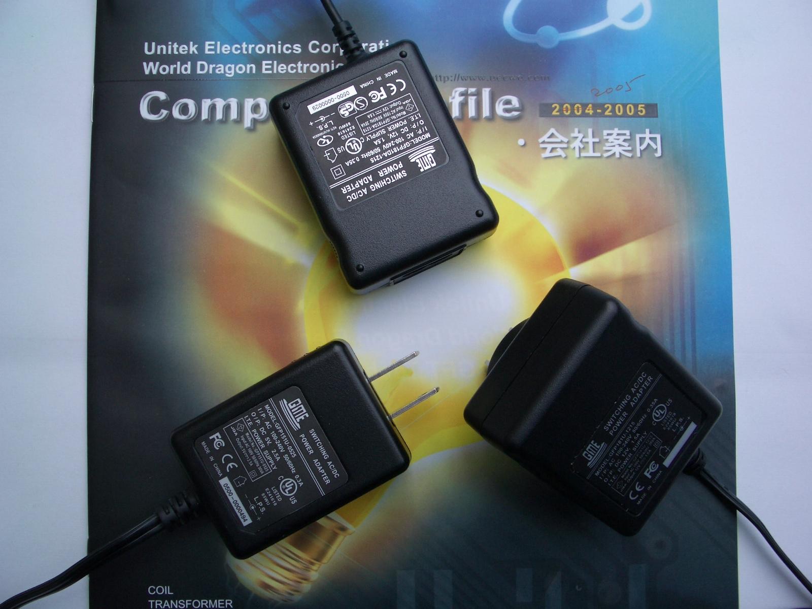 Switching AC/DC Adapter (12W),Switching Power Supply,Adapter (Переключение AC / DC Adapter (12W), Импульсный блок питания, адаптер)