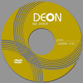 DEON 16x DVD-R,DVDR,DVD-R,BLANK DVD-R,BLANK DVDR,DVD-RECORDABLE,DVD