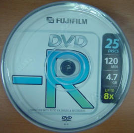 FujiFilm DVD-R,DVD-R,DVDR,Blank DVDR,Blank DVD-R,DVD-RECORDABLE
