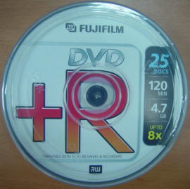 FujiFilm DVD+R,DVD+R,DVDR,Blank DVDR,Blank DVD+R,DVD RECORDABLE