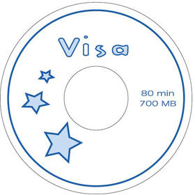 Ped Visa blue 2 CD-R (Ped Visa Blue 2 CD-R)