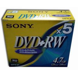 Sony DVD+RW,DVDRW,DVD+R/W,BLANK DVD+RW,BLANK DVDRW,
