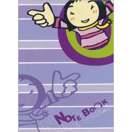 plastic notebook,notebook, office product, stationery (Пластиковая ноутбуков, ноутбуки, офисная продуктов, канцелярских принадлежностей)