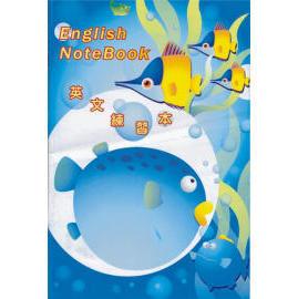 english book, notebook, take notes (Английский книга, записная книжка, делать заметки)